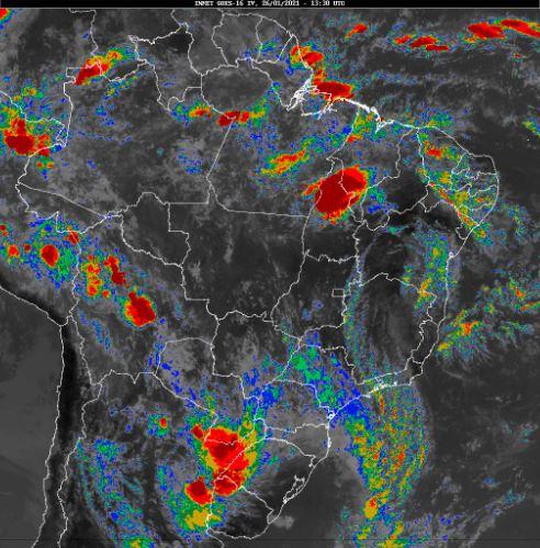Imagens de satélite - Inmet - 2601