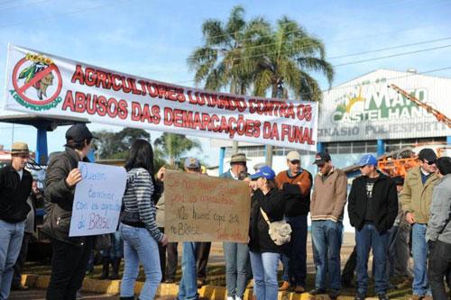 Manifestação em Mato Castelhano/RS 2