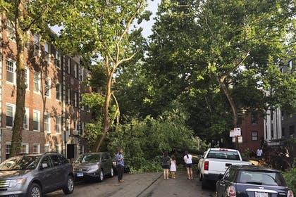 Tempestade em DesMoines - Agosto 2020