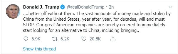 Tweet Trump 2