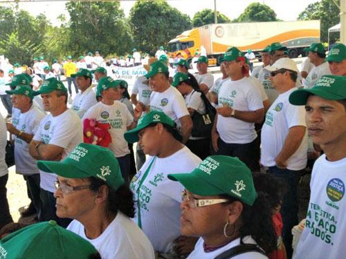 Manifestação em Rondonópolis/MT 2