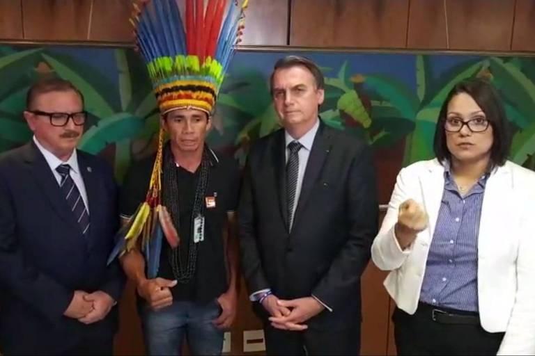 Live Bolsonaro - Indios