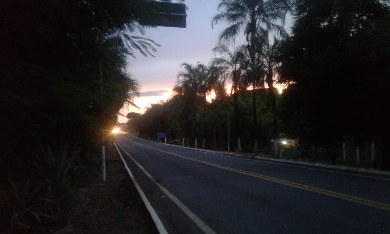 Muito calor na divisa entre Minas Gerais e Goiás
