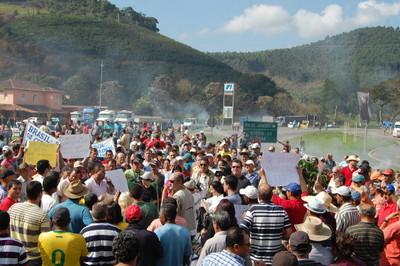 Manifestações em Realeza Café 2 - 01/07 - Portal Caparaó
