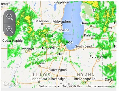 Radar Meio-Oeste - Fonte: Farm Futures