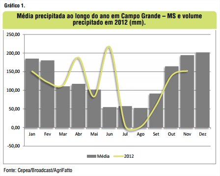 Gráfico 1 - Agrifatto