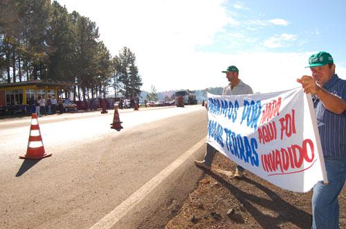 Manifestação em Laranjais do Sul/PR 3