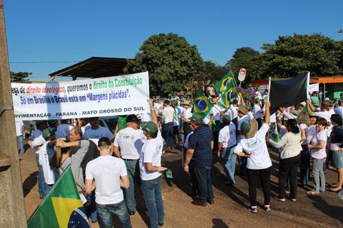 Protesto dos Produtores em Guaira 12
