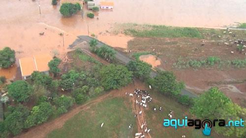 Chuvas em Marechal Cândido Rondon 2