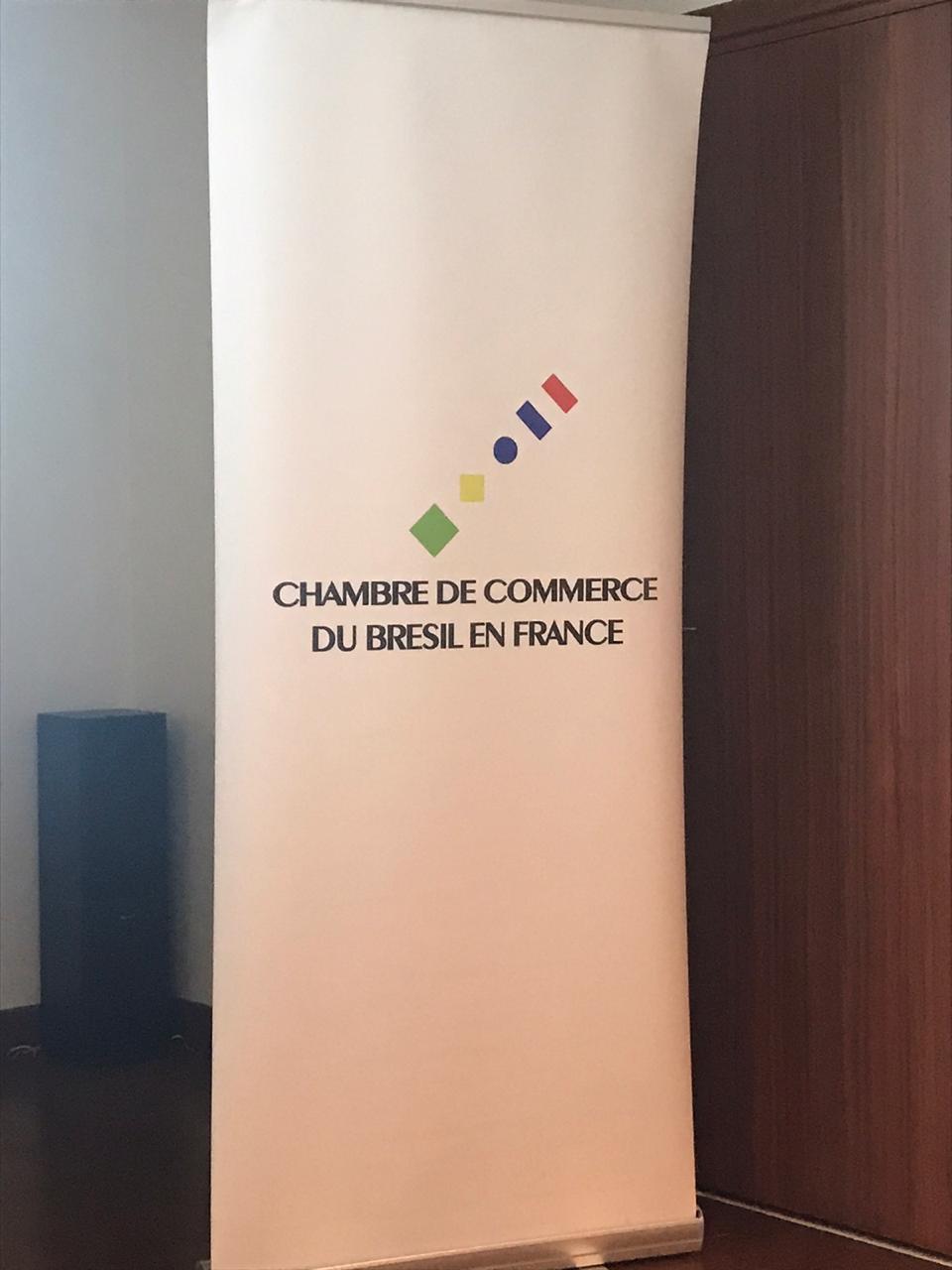 Encontro com empresários organizado pela Câmara de Comércio Brasil-França