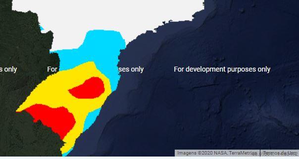 Previsão de geadas no sul - Inmet - 2807
