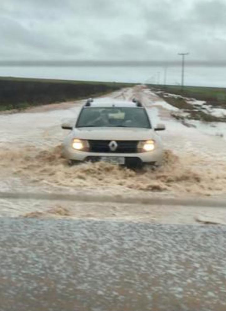 Chuvas nesta terça-feira (26) em Luís Eduardo Magalhães (BA) - Foto: Jonas Olivi
