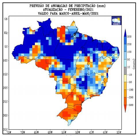 Boletim agroclimatológico Inmet - 0503