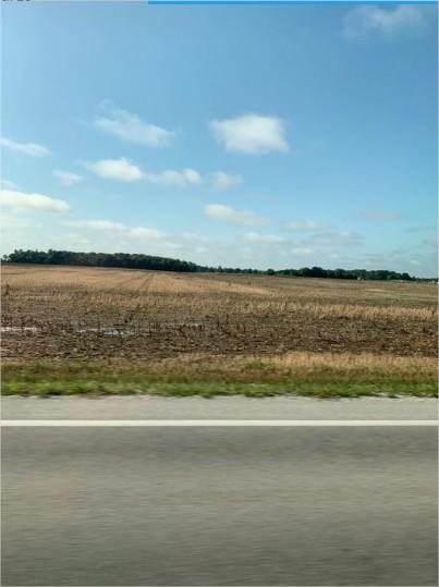 Ohio campo vazio