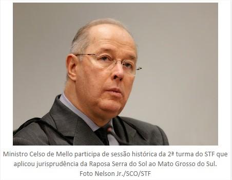 Ministro Celso de Mello
