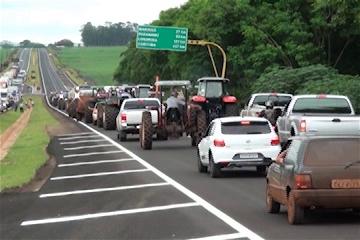 protesto Itambé-PR