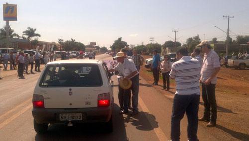 Produtores em Protesto
