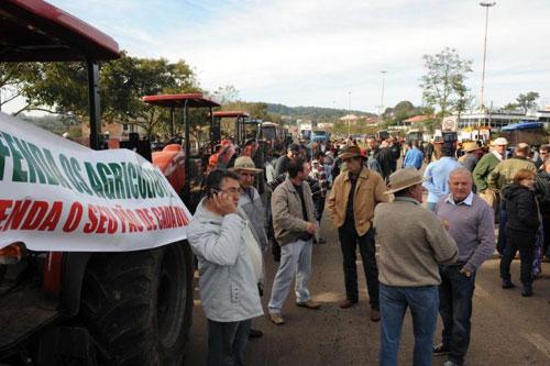 Manifestação em Mato Castelhano/RS 3