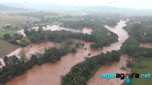 Chuvas em Marechal Cândido Rondon 3