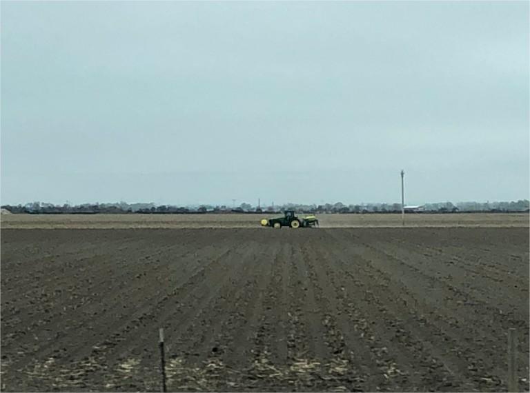 Plantio em Lexington, Nebraska - Karen Braun