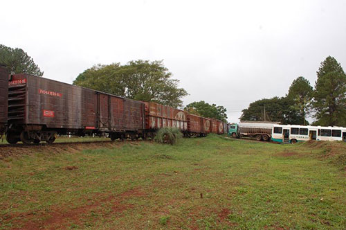 Trem no Brasil