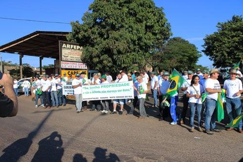 Protesto dos Produtores em Guaira 9