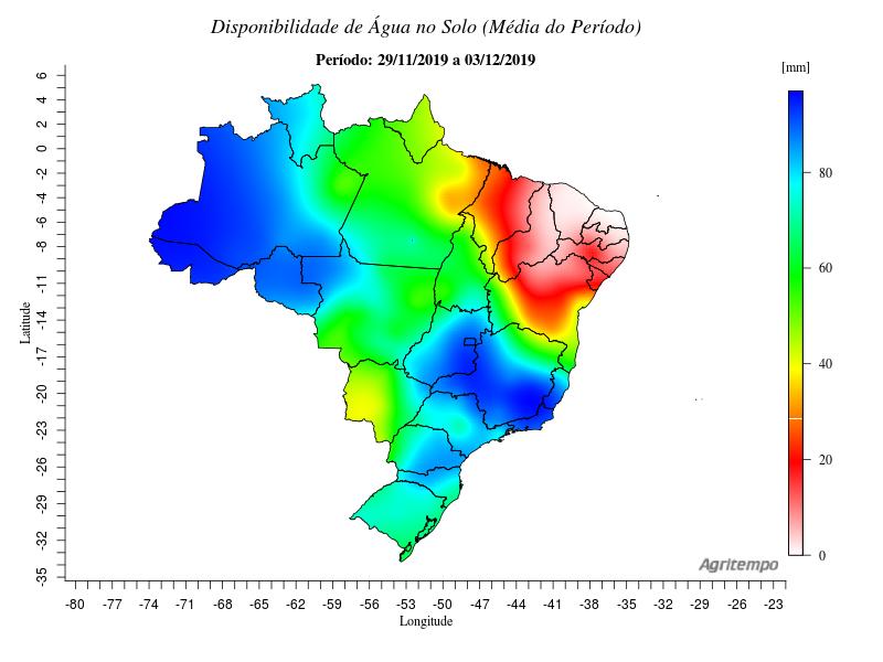 Água no solo Brasil - Oráculo