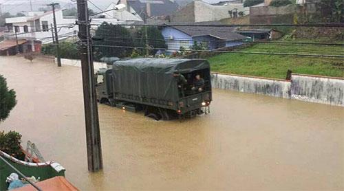 Chuvas em Corupá 2