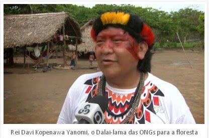 Rei Davi Kopenawa Yanomi