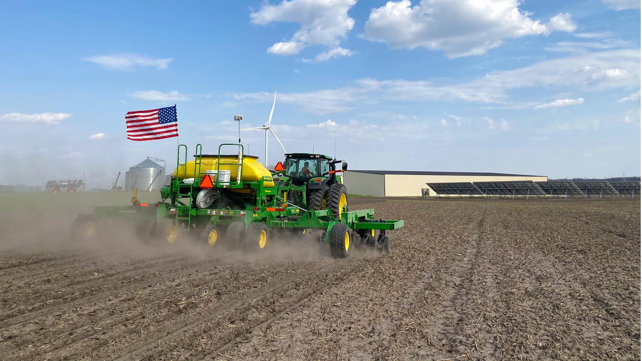 Plantio nos EUA