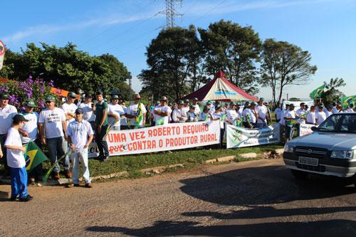 Protesto dos Produtores em Guaira 10