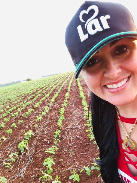 Plantio de soja no Paraguay. Envio de Magali Rossini