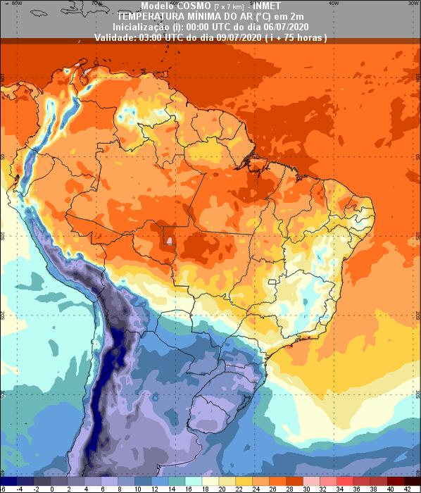 Temperaturas - Inmet - 0607