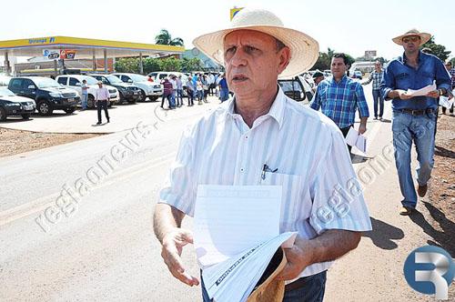 Protesto em Sidrolândia - MS