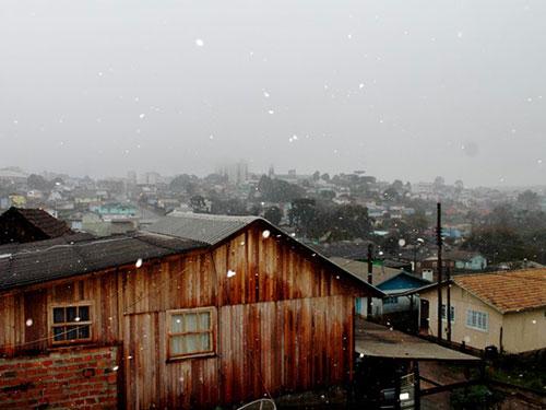 Neve no Sul - 14/08 - G1