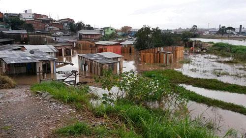 Chuvas no PR 5
