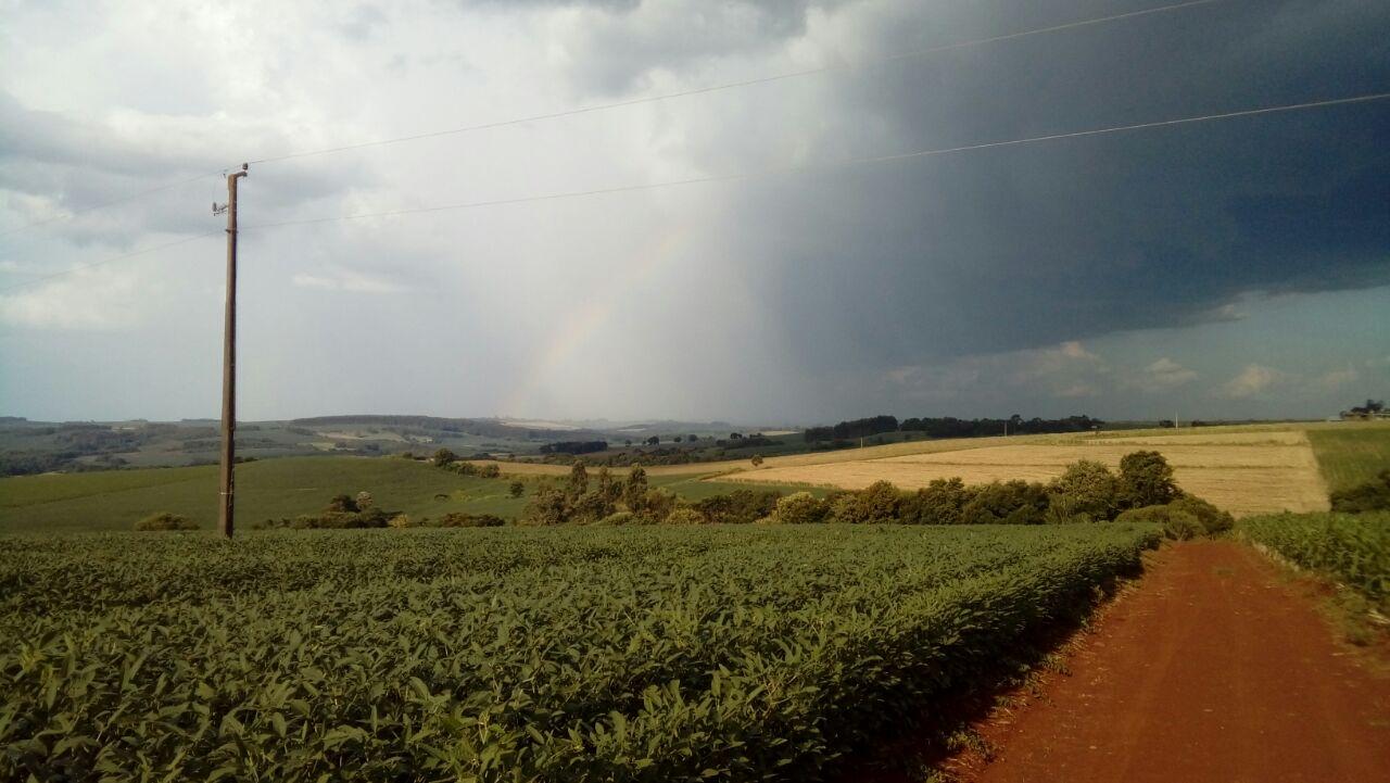 Chuvas no município vizinho a São Valério do Sul (RS). Envio de Marcos Aurélio