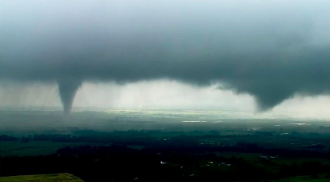 Tornados em Oklahoma - EUA - Maio 2019 - Foto KWTV-KOTV via AP