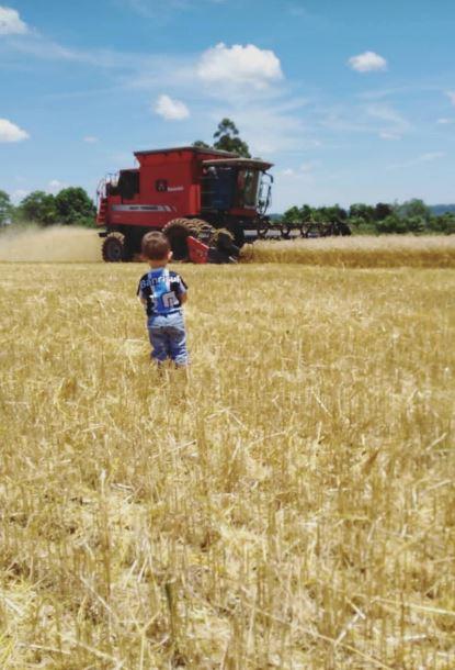 O futuro está tão perto foto de Renan Marion em Vista Alegre (RS).