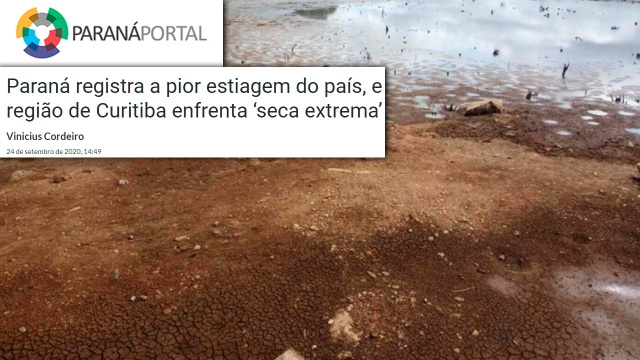 Portal Paraná 24/09/2020 estiagem