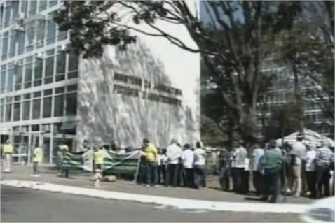 Fiscais agropecuários em greve
