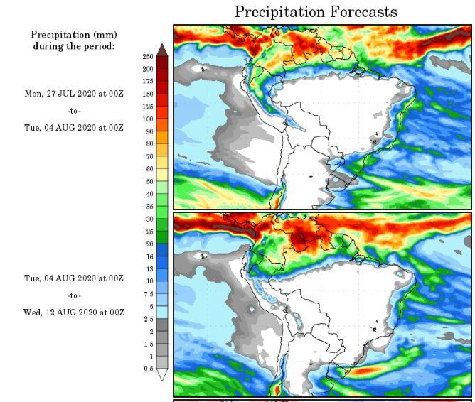 Precipitação NOAA - 2707
