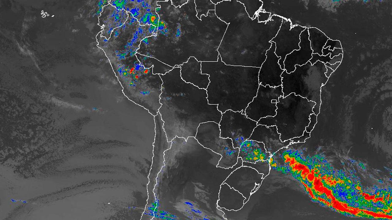 Topo de Nuvens  - 19/09/2019 - Inmet - 16:9