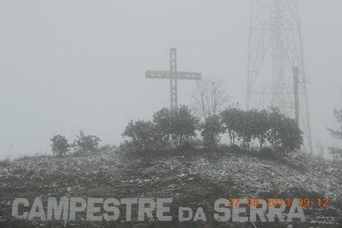 Neve no sul - 27/08 - Campestre da Serra