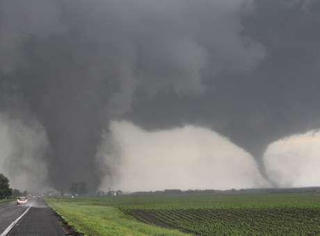 Tornado em Pilger/Nebraska - Foto: Reuters