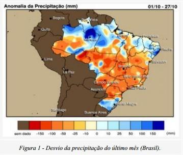 Anomalia de Precipitações