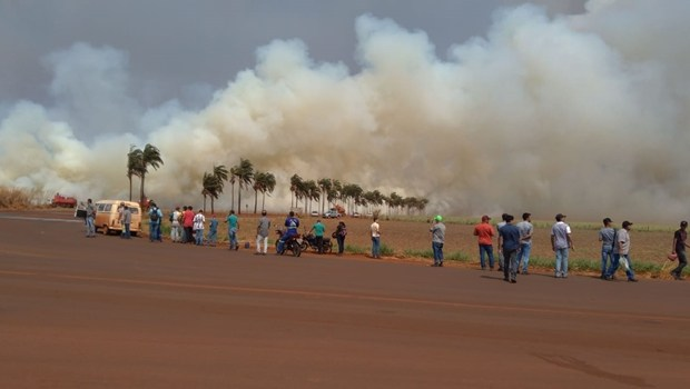 Incêndio Goiás