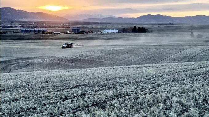 Frio em Idaho/EUA - Abril 2021