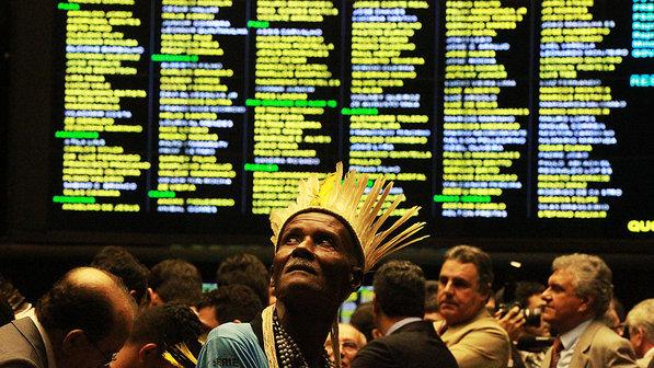 Índios na Câmara dos Deputados