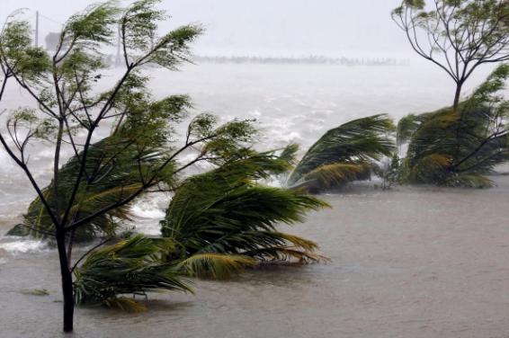 Área inundada após Doksuri atingir província de Ha Tinh, Vietnã - Foto: Reuters